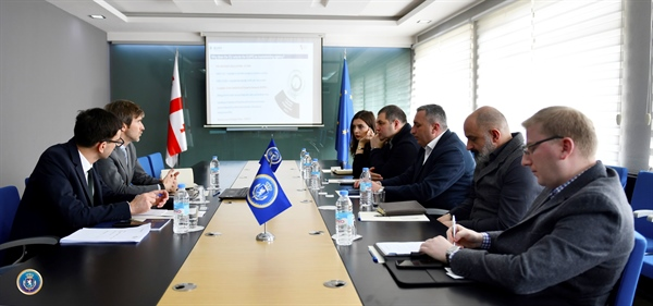 The Investigation Service hosted the representatives of EUIPO and Sakpatenti